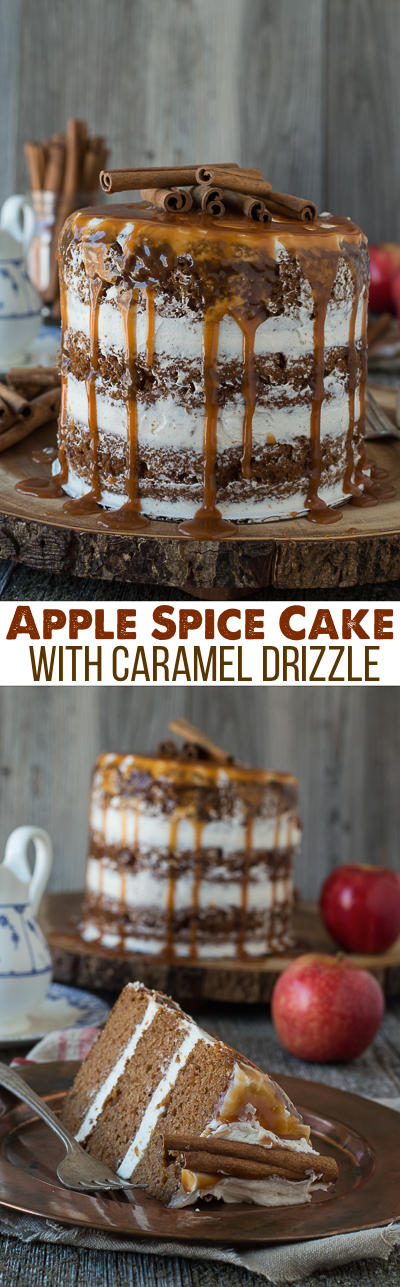 apple-spice-cake-with-caramel-drizzle-collage-1