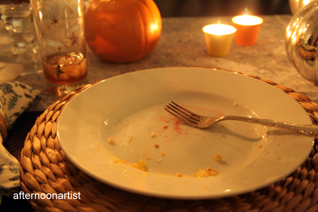 thanksgiving-candlelight-dinner-for-two-the-aftermath