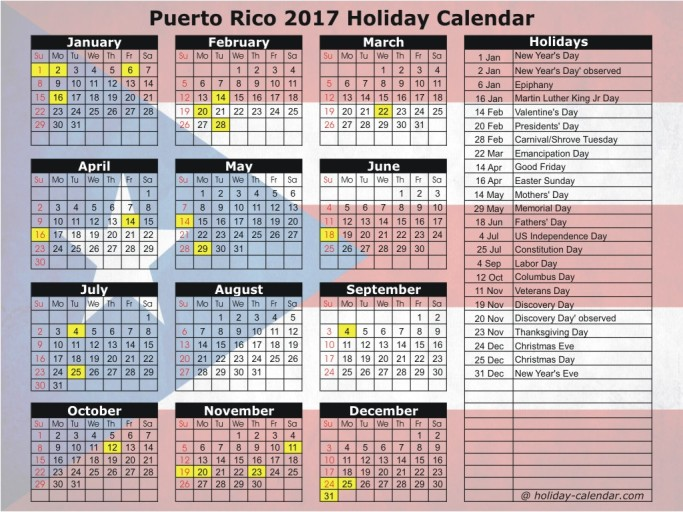 puerto-rico-2017-holiday-calendar